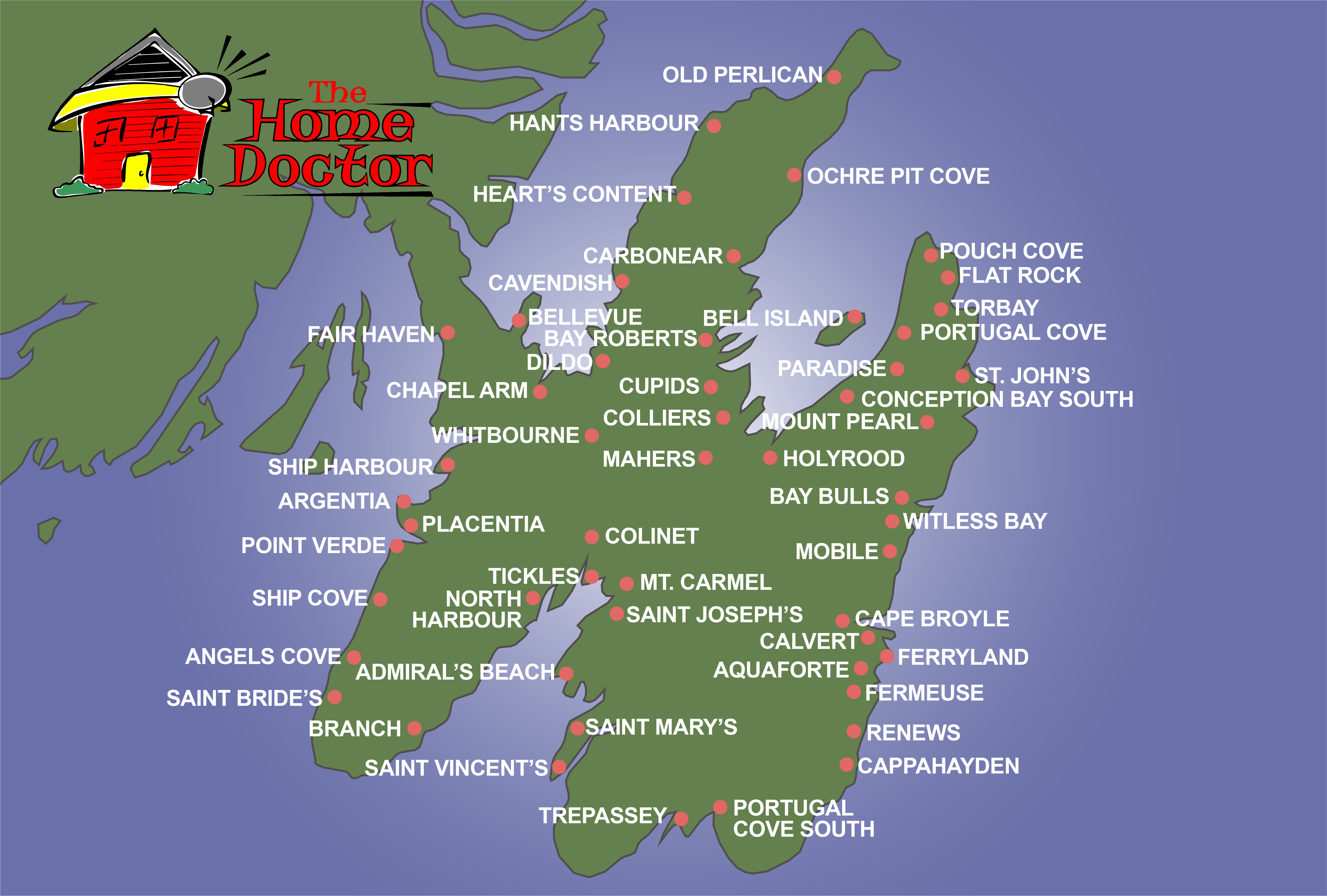 NFLD coverage map Avalon Pen